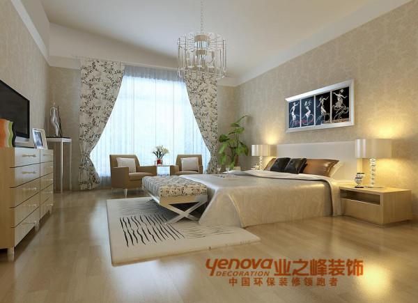 卧室135平米现代简约风格装修效果图
