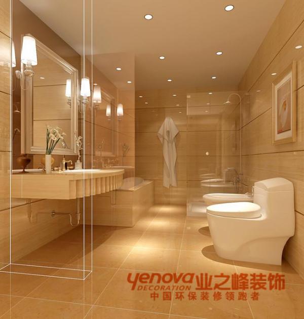 卫生间135平米现代简约风格装修效果图