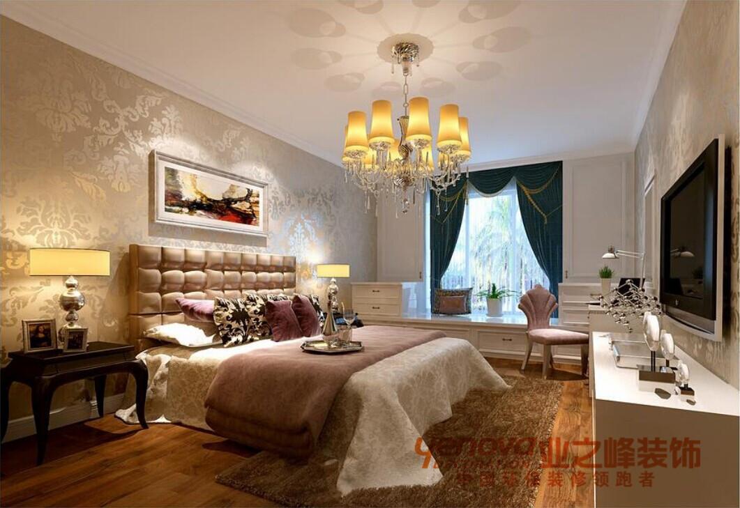 卧室145平米欧式风格装修效果图图片