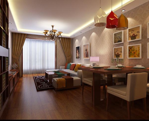 济南实创装饰装修-90平米婚房设计案例效果图-现代简约风格装修方案