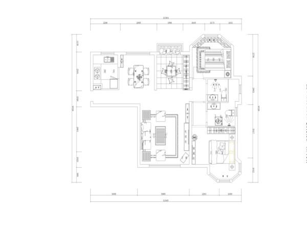 本户型为保利玫瑰湾保利玫瑰湾三室两厅一厨两卫106平米的户型,首先,进入入户门,左边是厨房,接着向里走左边是餐厅区域,右边是客厅区域,客厅区域对着的是茶室,接着往里正对着的是卫生间,在卫生间左边是次卧室