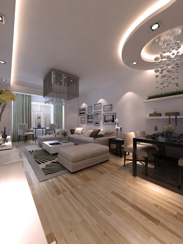 本方案属于现代简约风格,线条简单、装饰元素少,所以家具需要完美额软装配合。造型简洁,反对多余装饰,崇尚合理的构成工艺,尊重材料的性能,运用不对称的构图手法,使得设计简约而不简单。