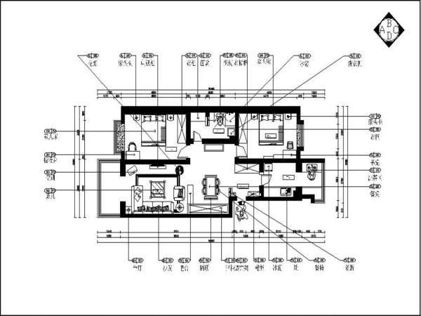 本案为香馨园楼标准层户型2室2厅1卫1厨100㎡的户型。从片面效果图来看,以顺时针方向走,从入户门进来映入眼帘的是衣帽柜的部分,右手边是厨房,左手边是餐区,餐厅的左边是客厅,宽敞明亮,采光极好