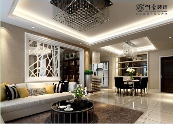 沙发背景墙现代风格效果图