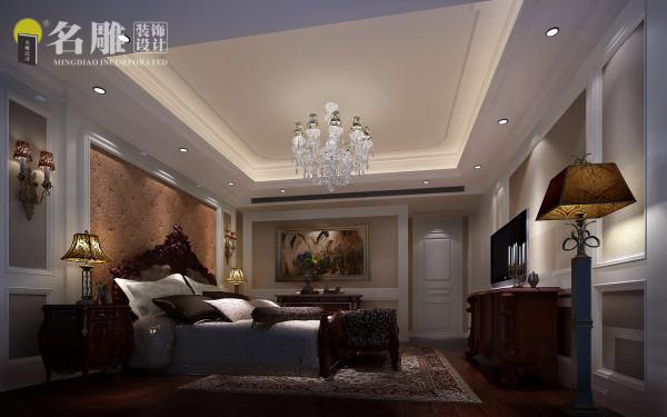 宝能太古城别墅—新古典欧式-主卧室