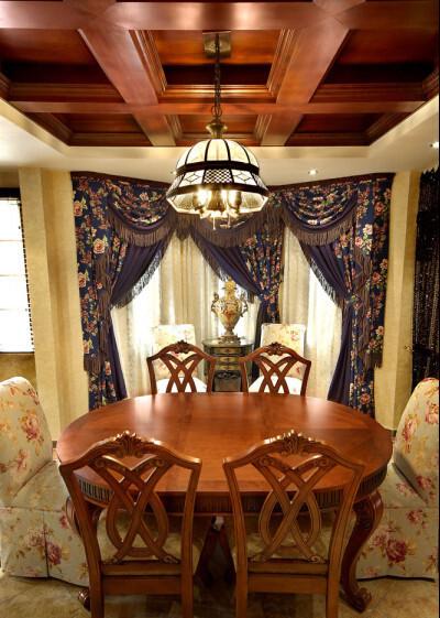 餐桌 窗帘