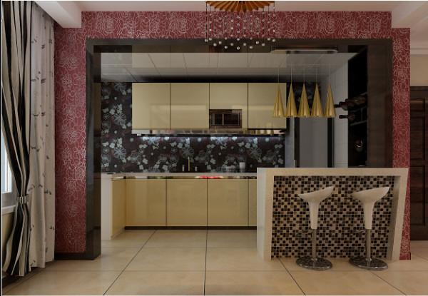 厨房做开放式设计,