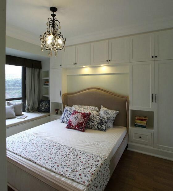 背景墙 房间 家居 设计 卧室 卧室装修 现代 装修 560_619图片