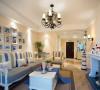 119地中海装修风格三居室