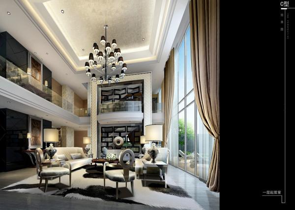 现代简约风格别墅设计效果图