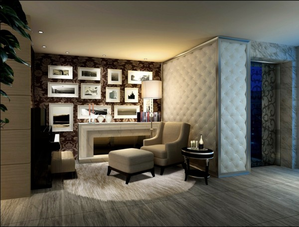 现代简约风格别墅设计效果简约图