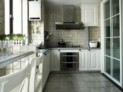华远铭悦园65平米户型厨房效果图