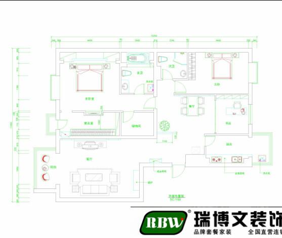 本户型优点:典型经典三室户型,客餐厅通透宽敞,卧室分布合理,整个户型的采光效果非常好。