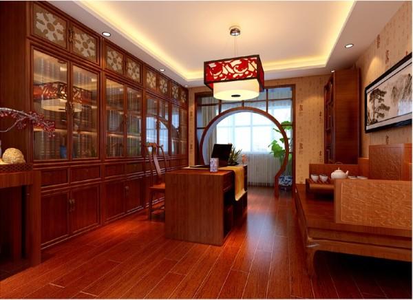 相同气质的书房与茶室的完美结合.