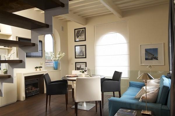 客厅兼书房,不需要太大的地方,就可以有办公学习的位置,让空间的利用率更高
