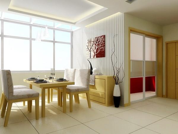 厨房用了磨砂玻璃推拉门,让厨房成为独立空间,可以让女主人充分发挥厨艺。