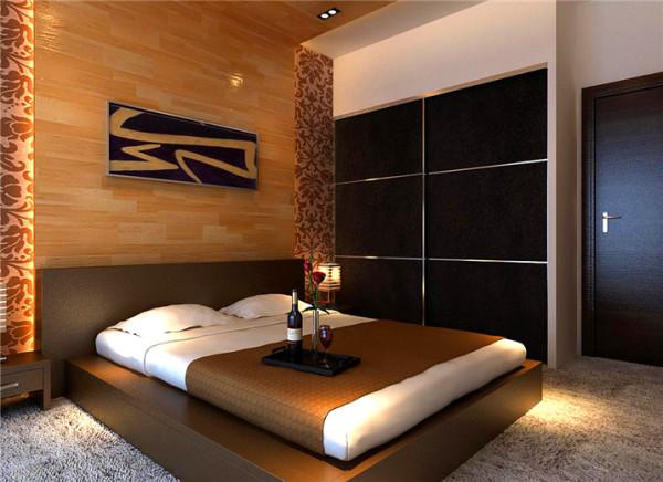 大面积的白墙配上与客厅相照应的同花样欧式墙纸,简约而不简略。