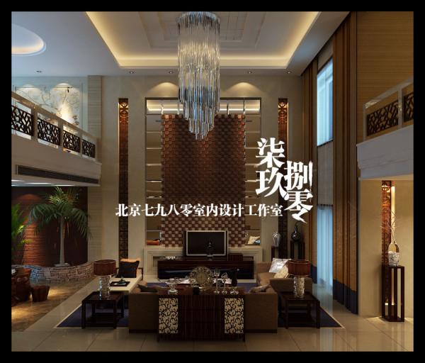七九八零室内设计机构,新中式风格,别墅设计,会所设计