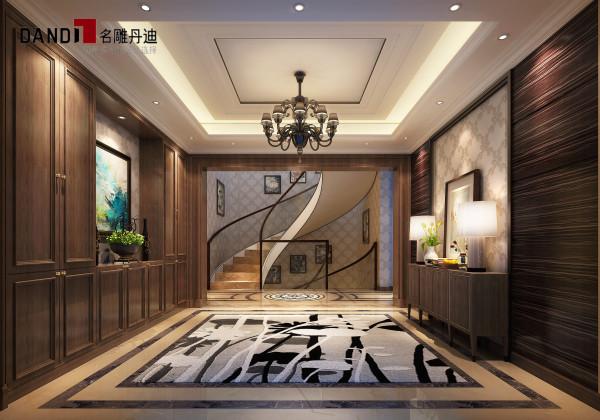 龙湾国际别墅玄关