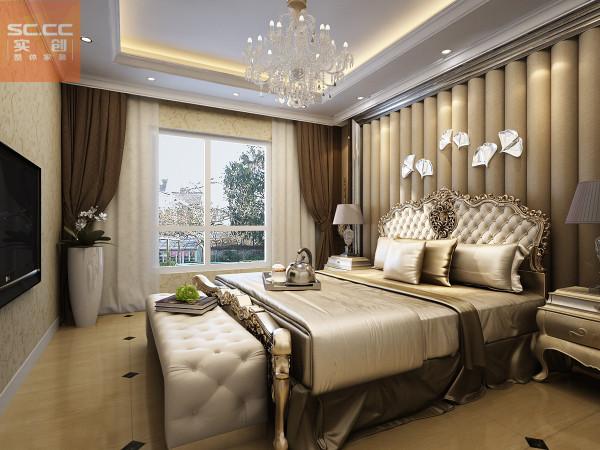 弘达明尚-119平米装修三居装修-卧室效果图