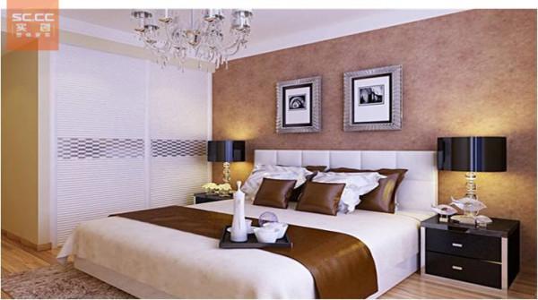 珠峰国际花园-110平米G1户型-卧室效果图