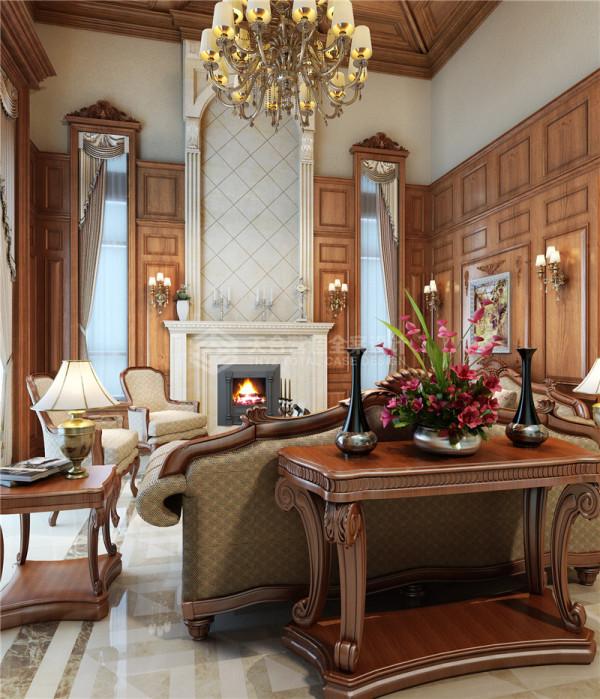 本案建筑很多部分采用原木饰以清漆来装修,没有过多的修饰和约束。