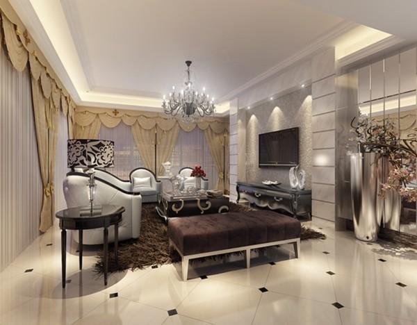 结合业主大气奢华生活的青睐,以舒适机能为导向,整体的奢华感。追求外在与心灵上的和谐。通过硬装材料与软装配饰的选择,结合欧式的设计元素。给客户打造一个大气,舒适奢华,惬意温馨的家。
