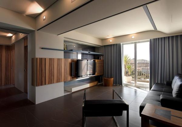 客厅:简约,又不失活力。空间的划分兼顾了功能性和观赏性。开敞的空间,通透的视觉效果,化凌乱为统一。是简洁、实用、美观,兼具个性化的展现。