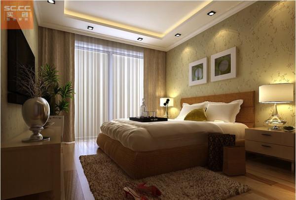 北郡帕提欧-86平米二居装修-卧室效果图