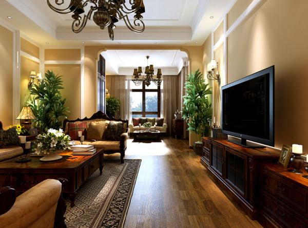 风格华丽的家具门窗多为白色,造型上的凹凸感充满艺术色彩。