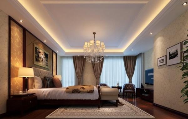 卧室作为休憩的场所,已不再需要过多的装饰,浅色、大地色的运用让它回归至身心放松的圣地。