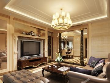 西郊半岛别墅现代风格设计