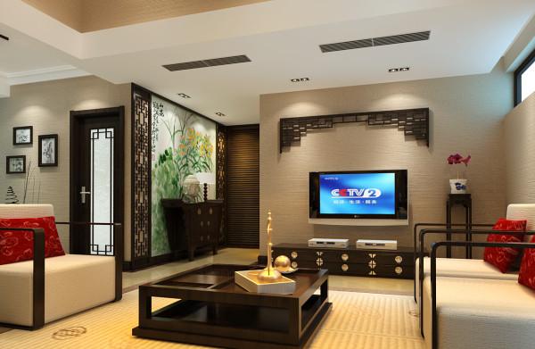 以亮色和木色为主调,木头造型和现代风格的背景墙让中式和现代的感觉交替出现。淡金色的墙面在古典与现代中穿插了奢华的味道更好的体现出品味的气息,灯光以暖黄色采光为主,在高贵典雅中还透露出家庭的温馨。