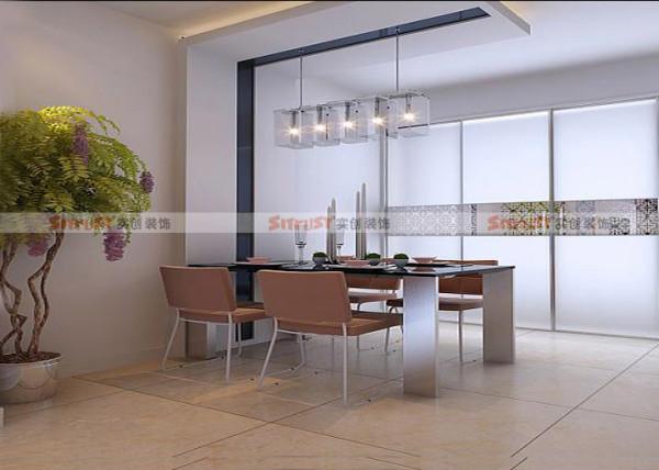 紫晶悦城-138平米现代简约装修效果图