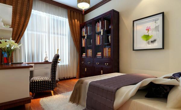 书房的设置体现了主人的生活习惯和嗜好,提升主人的品味。书房极有分寸而又极其丰富的家居布置传达了主人的内心,从而提升了主人的身份与品味。