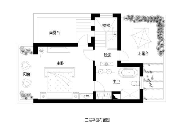 三层家居布置图