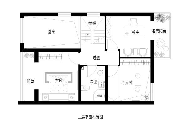 二层家居布置图