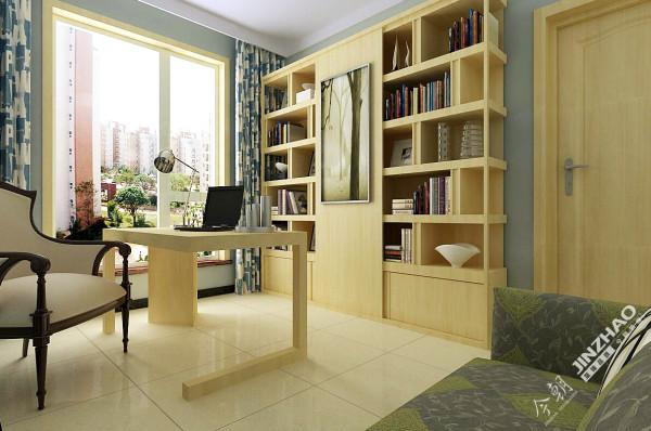 书房则强调安静,搭配家具舒服的颜色,置身其中安静而祥和。