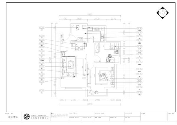 该户型沽上江南三期高层20号楼标准层F1户型2室2厅1卫1厨 94.17㎡。我设计的是一套现代简约风格的作品。简洁和实用是现代简约风格的基本特点。