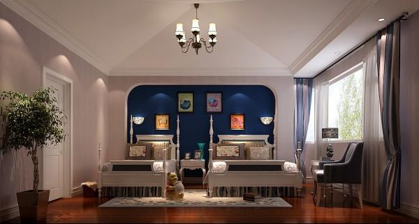 儿童房运用了丰富的色彩,符合孩子的天真浪漫的气息。