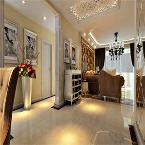 用大理石、多姿曲线的家具等,让室内显示出豪华、富丽的特点,充满强烈的动感效果。