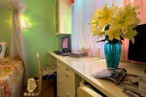 舒适 温馨 屌丝 定制家装 公主房 文艺青年 收纳 卧室图片来自周楠在幸福猪的地中海婚房的分享
