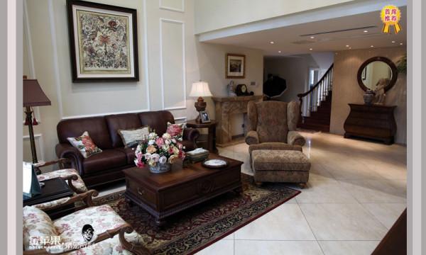 欧式 别墅 客厅 卧室 厨房 餐厅图片来自安徽金苹果装饰材料有限公司