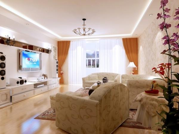 按照业主实际需求,婚房的设计以简洁明亮的风格为主导向,色调上温馨、温暖,并不是走甜美公主浪漫风