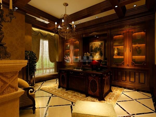都是点染欧式风格不可缺少的元素,在面积、空间较大的房间内会达到更好的效果。