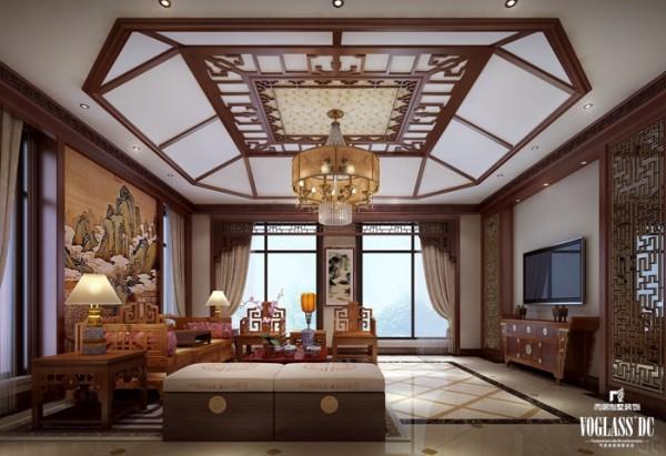 新厅是主人自我休闲的空间之一,因此设计师对整体空间的设置以舒适为主。增加了相对舒服的沙发作为空间内的补充,同时将整体的空间进行留白,增加更别冥想的空间和休闲的舒适。