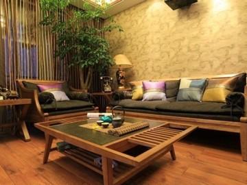 70平小空间装修 尽显东南亚风情