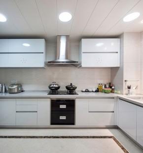 190平 四居 新古典 新房装修 80后 小资 布艺家纺 厨房图片来自居佳祥和装饰在190平新古典装修风格案例的分享