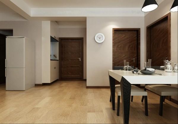 在入户的地方设计以一个通顶鞋柜,中间则可以摆放一些业主喜欢的小饰品,使整个空间得到充分利用。