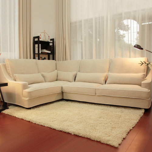 坐垫采用32度高弹回海绵,搭配羽绒填充,坐感舒适。贵妃椅扶手线条设计,给予手臂极佳放松,可拆组合,搭配更简便。